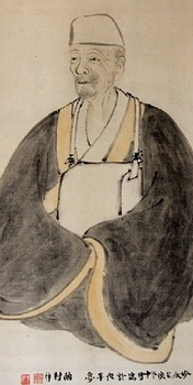 金福寺芭蕉像・部分.jpg