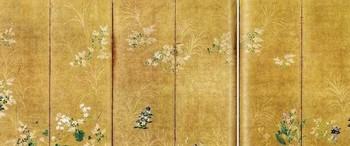 月に秋草・出光二.jpg