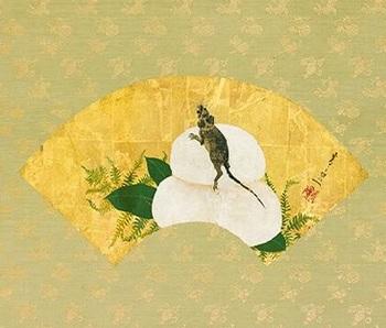鏡餅と鼠.jpg